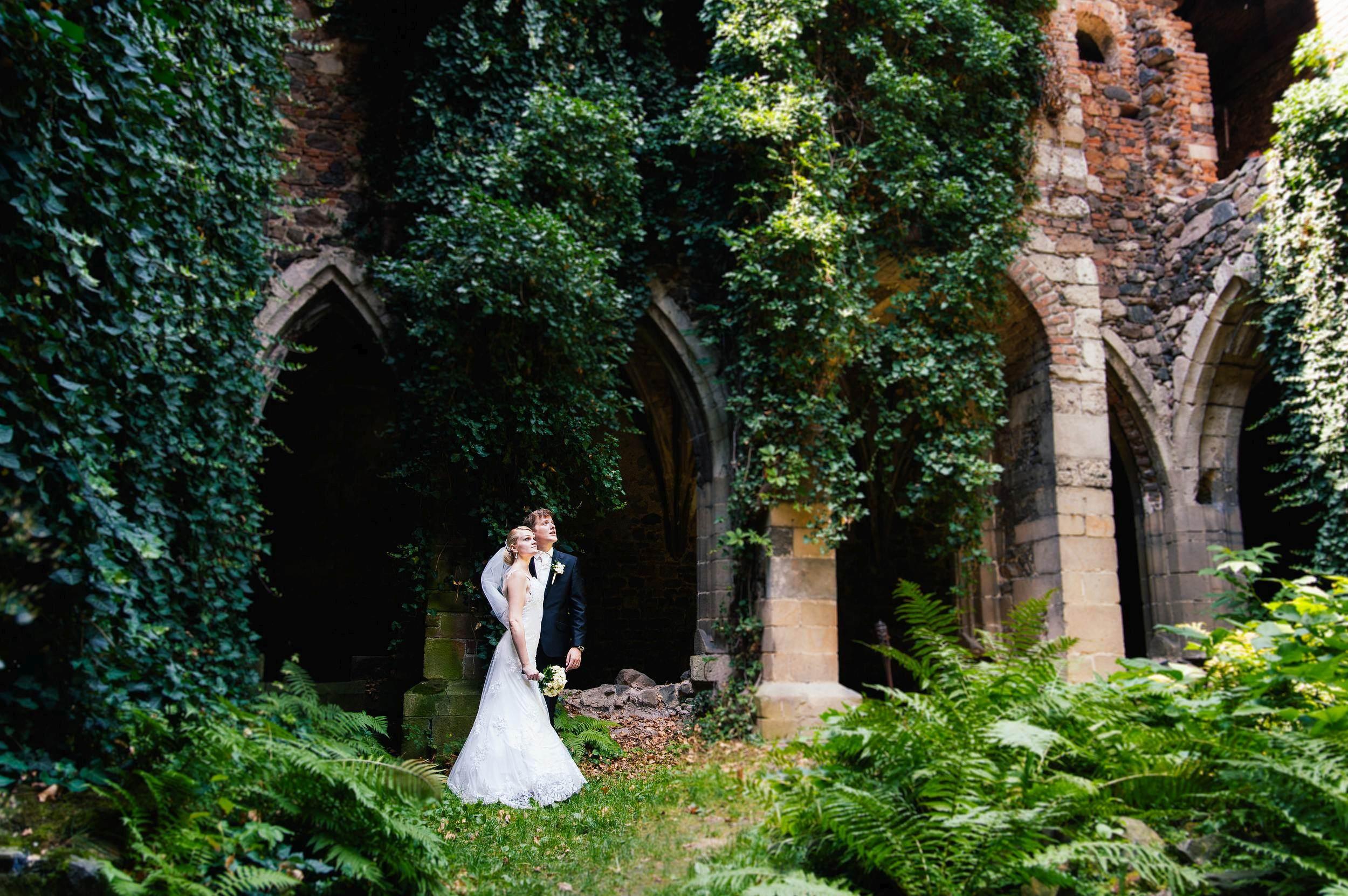 Svatební fotograf, Dolní Kounice, klášter Rosa Coeli, jižní Morava